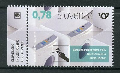 Slovenia 2017 MNH Gorenje Washing Machines 1v Set Technology Invention Stamps