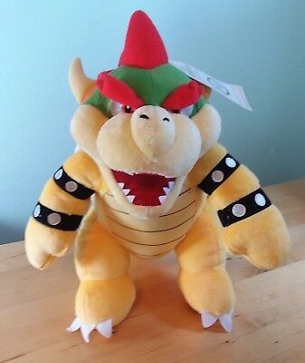 NEW Build-a-Bear BOWSER Stuffed Super Mario Bros. Plush - SHIPS OUT SAME DAY