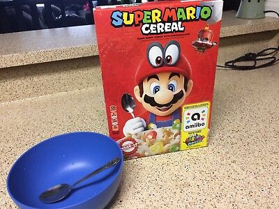 Kellog's SUPER MARIO ODYSSEY CEREAL Amiibo Support Included