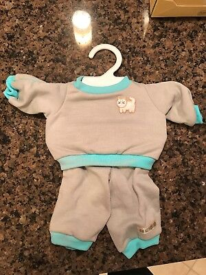 Vintage 1983 Cabbage Patch Kids Outfits Coleco ~ Vintage Doll Clothes w Hanger