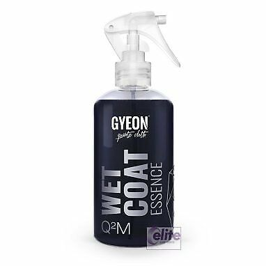 Gyeon Q2M WetCoat Essence 250ml Concentrated Hydrophobic Sealant makes 4 Litres