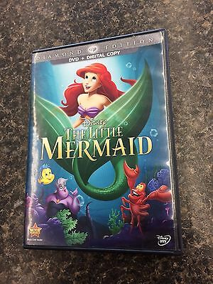 The Little Mermaid (Diamond Edition)  Excellent DVD F/S