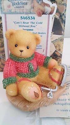 "Cherished Teddies -JEROME - ""Can´t Bear The- 546534 - OVP, Zert. -AVON Exclusive"