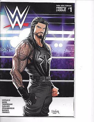 WWE: Then, Now, Forever #1 Roman Reigns Cover Boom Comics 2016