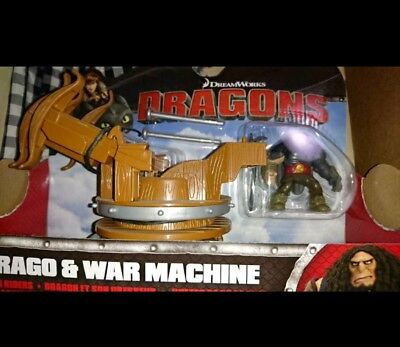 Spin master dragons Drago War machine
