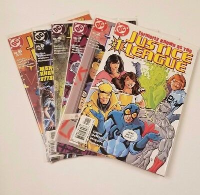 Formerly Known as Justice League 1-6 VF/NM COMPLETE SET FULL RUN GIFFEN