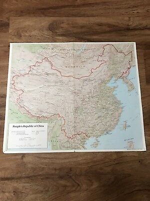 Detailed Map Of The Peoples Republic Of China