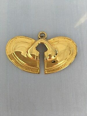 Pre Colombian  Pendant - gold plated