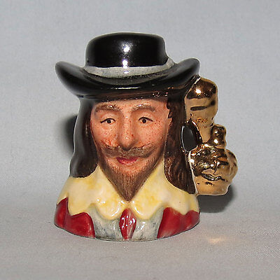 Royal Doulton Charles I Kings and Queens of Realm tiny size character jug D6995