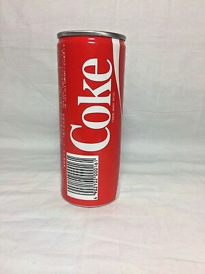 Coca Cola Vintage (250Ml) Slim Coke Can  1980's Full Can.