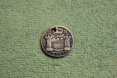 Vintage-Token-Coin-Medal-World-G R -Abdy-Coined Before 1770's