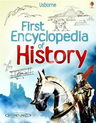 NEW First Encyclopedia of History By Fiona Chandler Hardcover Free Shipping