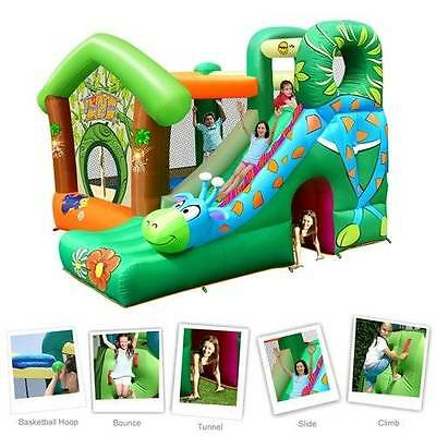 Giraffe Jumping Castle 9139 (HAPPY HOP)