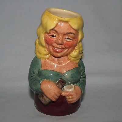 Royal Doulton Doultonville toby jug BETTY BITTERS the BARMAID D6716