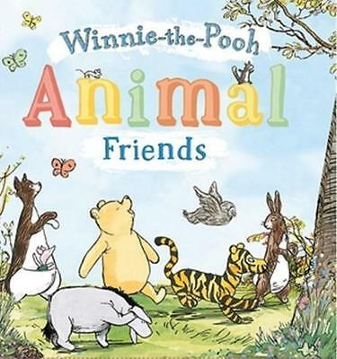 NEW Animal Friends By Winnie-the-Pooh Board Book Free Shipping