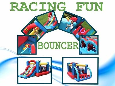 9163 Happy Hop Racing Fun Bouncer