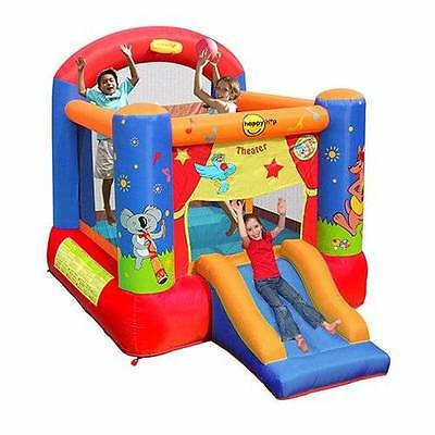 HAPPY HOP Theatre Slide & Hoop Bouncer