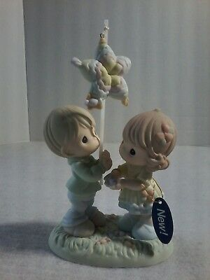 Precious Moments PORCELAN FIGURINE - May Sweetness And Love Shower Down On You