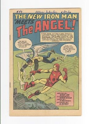 Tales Of Suspense #49 - Coverless - Early Iron Man: X-Men Angel 1963