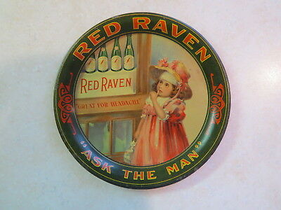 Red Raven Splits Advertising Tip Coin Change Mini Shonk Tray Aperient Water NR