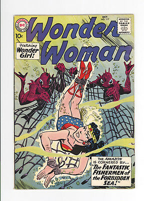 Wonder Woman #117 - Nice Grade - Scarce Early Silver Age Issue - 1960