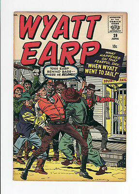 Wyatt Earp #29 - Unrestored High Grade - Awesome Jack Kirby Cover! 1960 Rare