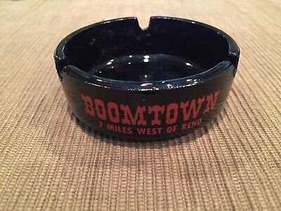 "Boomtown ashtray ""7 Miles West of Reno"""