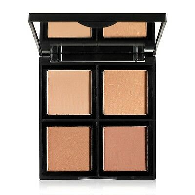 E.l.f Elf Bronzer Palette - Beauty Shimmer, Glow, Tan, Contouring And Sculpting