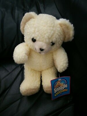 "NWT Vintage Snuggle Bear 1997 10"" Lever Brothers Fabric Softener Promotion Plush"
