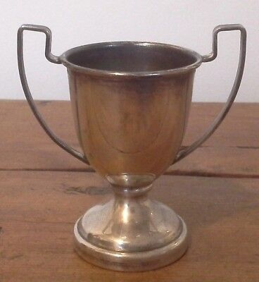 Vintage silver plate trophy, silver, trophy, sporting trophy, NOT ENGRAVED