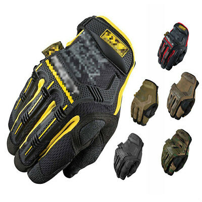 Tactical Military Gloves Mens Army Assault Combat Police Security Driving Patrol