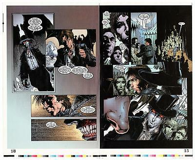 Kiss Pyscho Circus #30 Comic Book Original Color Key 2 Sided Proof