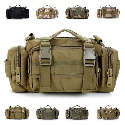 Tactical Waist Pack Military Army Shoulder Belt Bum Bag Utility Molle Messenger