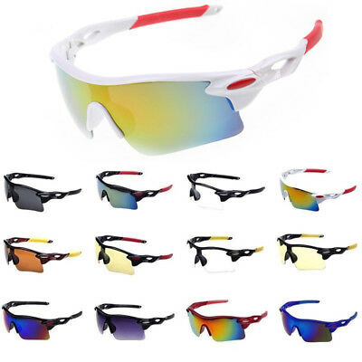 Motorcycle Motorbike Wraparound Sunglasses Biker Car Driver Glasses Shatterproof