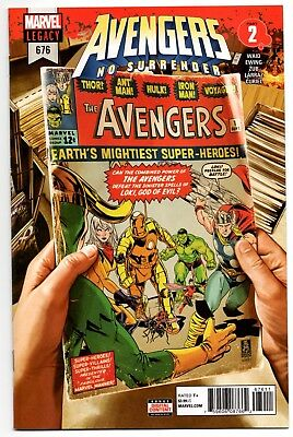 Avengers #676 Cover A Sold Out Marvel Comics SEE SCANS