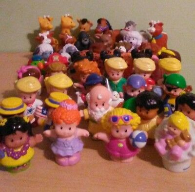 Fisher Price Little People Mixed Lot Of 47 Figures