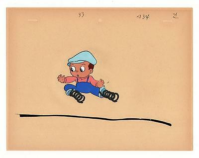 Warner Brothers 1950's Original Animation Production Art Cel Vintage Rare