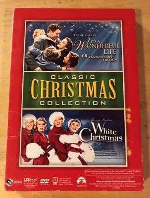 Classic Christmas Collection: IT'S A WONDERFUL LIFE / WHITE CHRISTMAS DVD