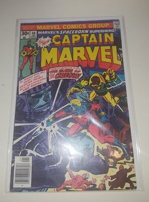 Captain Marvel #48 7.0, 1977, Claws of the Cheetah!