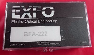 EXFO BFA-222 Bare fiber adapter High Precision NTT-FC adapter