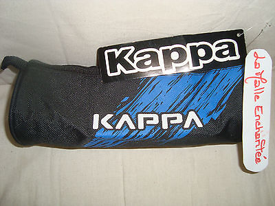 Kappa Pencil Case Catch All Cylindrical Black/blue New