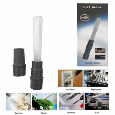 Dust Daddy Brush Cleaner Dirt Remover Universal Vacuum Attachment Cleaning Tool