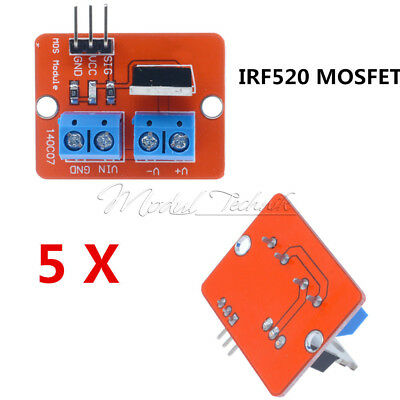 Stkstop Mosfet Button Irf Mosfet Driver Module For on Arduino Mos Fet Motor Control