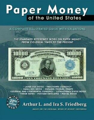 NEW Friedberg Paper Money of The United States 21st Edition Softbound US FREE SH