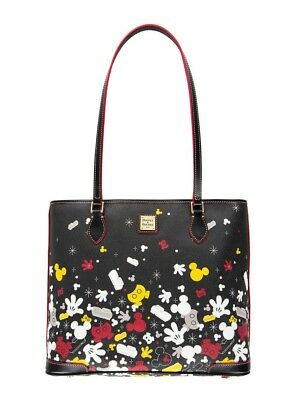 Disney Parks Dooney And Bourke I Am Mickey Mouse Large Shopper Tote Purse Bag