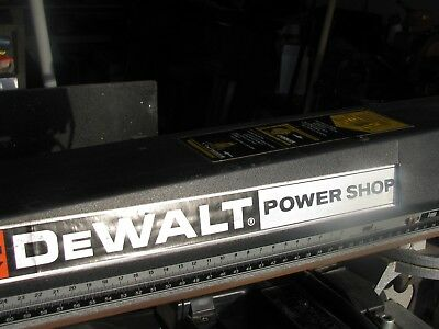 Dewalt radial arm saw power shop with stand, SINGLE PHASE 240 volts