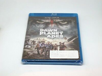 Dawn of the Planet of the Apes 2014 (Blu-ray) New Free Shipping within US