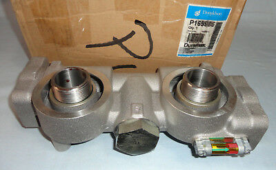 Donaldson P169985 Dual Filter Head Assembly Duramax NEW