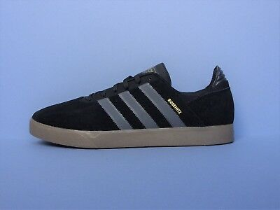 ADIDAS BUSENITZ SKATE Trainers Shoes BlackGum Brand New