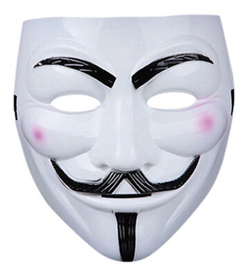 10 Fawkes Individuo Anonymous Máscaras Hacker V For Vendetta